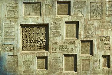 Gutenberg-Museum, Mainz, Rhenish Hesse, Rhineland-Palatinate, Germany, Europe