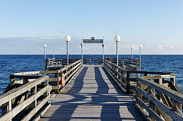 Heiligendamm, Mecklenburg-Western Pomerania, Germany, Pier