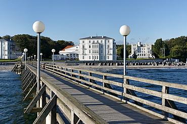 Kempinski Grandhotel Heiligendamm, Mecklenburg-Western Pomerania, Germany, Pier