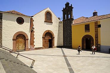 Cloister and church Santo Domingo, San Cristobal de la Laguna, old town, Tenerife, Canary Islands, Spain