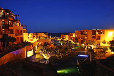 evening view of Hotel Reserva San Blas, South Tenerife, Canary Islands, Spain