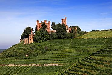Ortenberg castle, near Offenburg, Ortenau region, Black Forest, Baden-Wuerttemberg, Germany