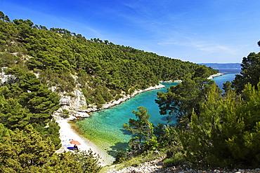 Bathing bay, Brac, Split-Dalmatia, Croatia