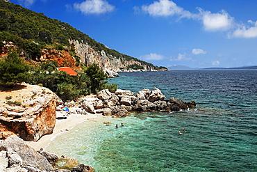 Bathing bay, Sveta Nedjelja, Hvar, Split-Dalmatia, Croatia