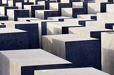Holocaust memorial, monument to the murdered Jews of Europe, designed by Peter Eisenman, Berlin, Germany, Europe