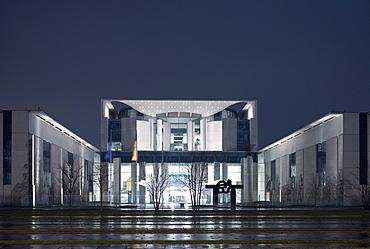 German federal chancellery, Berlin-Mitte, Berlin, Germany, Europe
