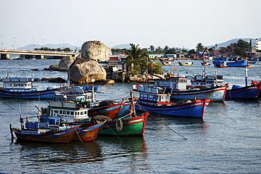 Fishing boats, Nha Trang, Khanh Ha, Vietnam