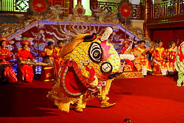Theater play, Imperial Theater, Citadel, Imperial City, Hue, Trung Bo, Vietnam