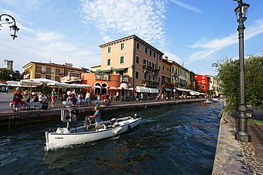 Boat, Lazise, Lake Garda, Veneto, Italy