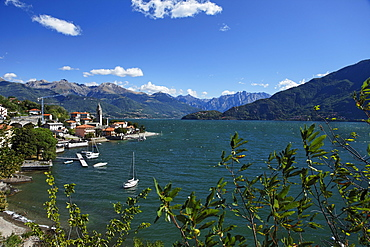 Cremia, background Piz Stella, Surettahorn, Lake Como, Lombardy, Italy