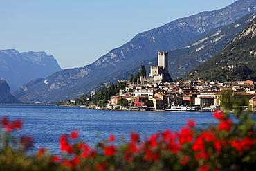 Scaliger Castle, Malcesine, Lake Garda, Veneto, Italy