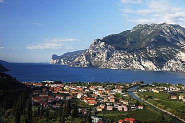 View over Lake Garda, Torbole, Lake Garda, Trento, Italy