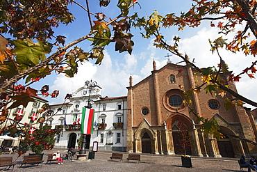 Cattedrale di Santa Maria Assunta e Gottardo, Asti, Monferrato, Piedmont, Italy