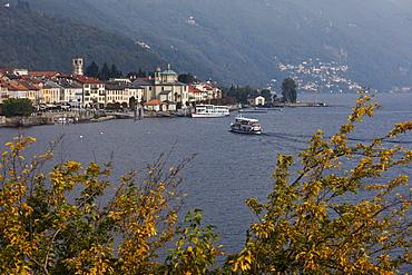 Seafront, Cannobio, Lago Maggiore, Piedmont, Italy