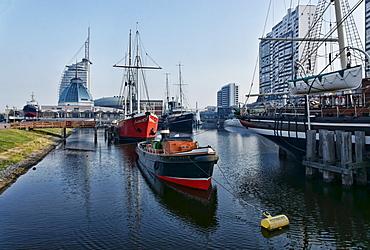 Museum Port, Sail City Hotel, Bremerhaven, Bremen, Germany
