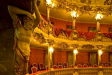 CuvilliÈs-Theater, or Old Residence Theatre (Altes Residenztheater) is the former court theatre of the Residence in Munich, Munich, Bavaria, Germany, Europe