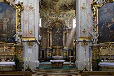 Ettal minster, Benedictine monastry, Ettal, Bavaria, Germany, Europe