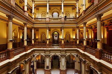 courtyard in the Capitol, architect Elijah E. Myers, 200 East Colfax Avenue, Denver, Colorado, USA, North