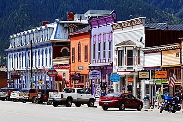 Main Street, Silverton, Colorado, USA, North America, America
