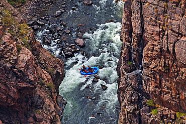 Canon City, Royal Gorge, Arkansas River, Rocky Mountains, Colorado, USA, North America, America