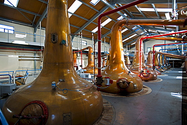 Glenfiddich Destillery, Dufftown, Aberdeenshire, Scotland