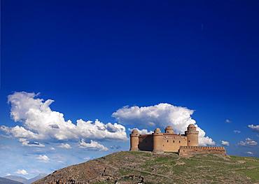Old fort of Calahorra, Minas de Alquife, Andalusien, Spanien