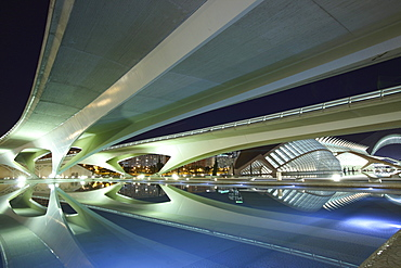 City of Arts and Sciences, Architect Santiago Calatrava, Valencia, Spain