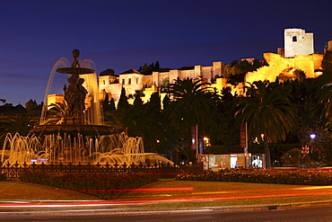 Citadel, La Alcazaba, Malaga, Andalusien, Spanien