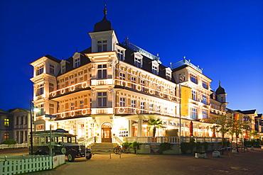 Hotel ÑAhlbecker Hofì, Ahlbeck seaside resort, Usedom island, Baltic Sea, Mecklenburg-West Pomerania, Germany