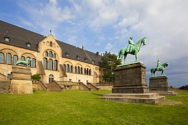 Kaiserpfalz Imperial Palace, Goslar, Harz mountains, Lower Saxony, Germany