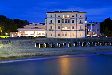 Grand Hotel, Heiligendamm, Baltic Sea, Mecklenburg Western-Pomerania, Germany