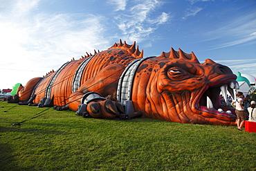 Dragoon at the Ballooning festival, Saint Jean de Richelieu, Quebec, Canada