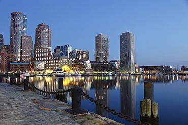 The New Waterfront of Boston, Massachussets, USA