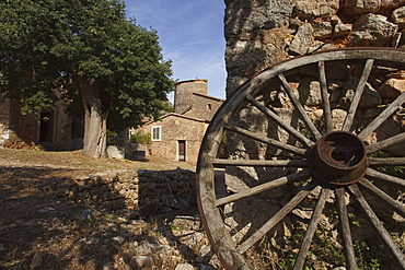 Exterior view of Finca Balitx d¥Avall, Tramuntana mountains, Mallorca, Balearic Islands, Spain, Europe