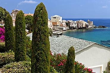Village of Erbalunga, Cap Course, Corsica, France