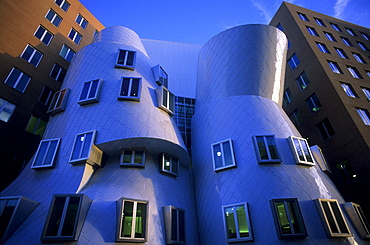 Stata Center at MIT, designed by Frank Gehry, Cambridge, Boston, Massachusetts, USA