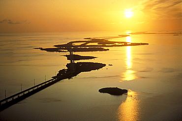 Seven Miles Bridge, Florida Keys, Florida, USA