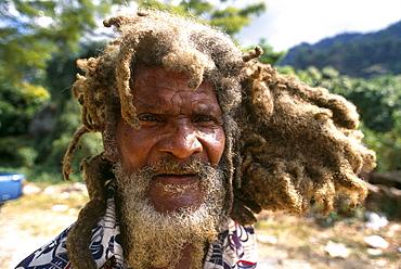 Jamaican with dreadlocks, Kingston, Jamaica