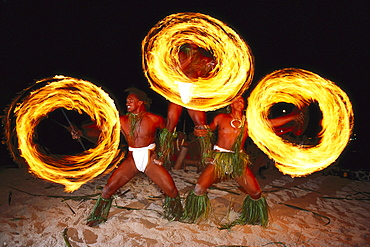 Feuertanz, Poly. Show, Bora-Bora Lagoon Resort Bora-Bora, Franz. Polynesien