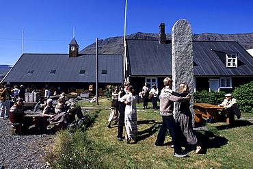 Icelandic Folklore Dancing, Turnhus Maritime Museum, Ã•safjoerdur, Isafj'rdur, Ã•safjardarbar, Iceland