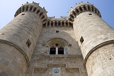 The Palace of the Grand Master of the Knights of Rhodes, Old Town, Rhodes, Dodecanese Islands, Greece