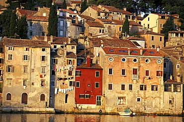 Old houses, Rovinj, Istria, Croatia