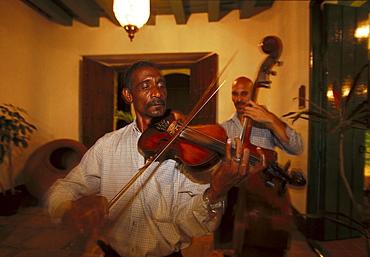 Musicians, Al Medina restaurant, Old Havana, Cuba