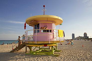 Lifeguard Tower, Designer Ken Scharf, South Beach, Miami Florida, USA