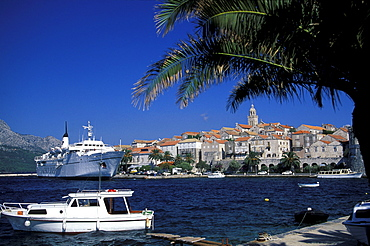 Korcula, Cityscape, Korcula Island, Dalmatia, Croatia
