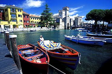 Scaglian Castle, Sirmione, Lazise, Gardasee, Verona, Italien