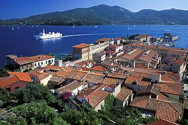 Porto Ferraio, Portoferraio, Spaggia di Capo Blanco, Elba, National Park of the Tuscan Archipelago, Tuscany, Italy