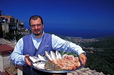 Seafood, Elba, National Park of the Tuscan Archipelago, Tuscany, Italy