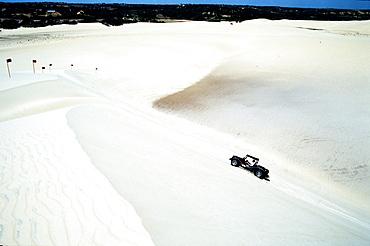 Buggy, Sand dunes of Genipabu, Beach Genipabu, Natal, Rio Grande do Norte, Brazil