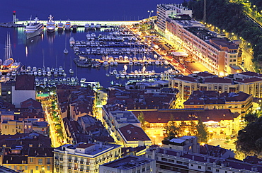 Hafen, Monaco-Stadt, Cote d¥Azur, Monaco Frankreich